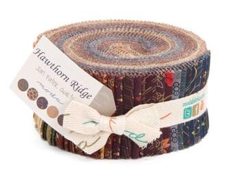 Hawthorne Ridge-Moda Fabrics-Jan Patek-2.5 inch strips- Jelly Roll