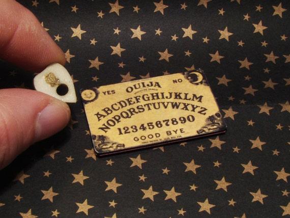 112 Dollhouse Miniature Ouija Board With Glow In The Dark