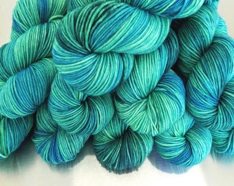 """Waterlust"" Limited Run colorway on Simple SW DK"