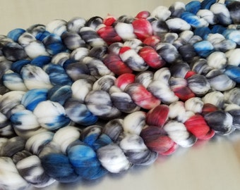 """Rustic"" (70519)on SW Merino Wool Fiber"