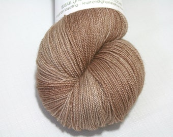 "Hand Dyed Lace Yarn, ""Banter"" (lot 41216), Tonal Kettle Dyed Lace, Semisolid Yarn, SW Merino Silk Lace"
