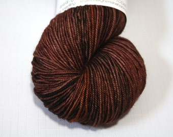 "Hand Dyed Sport Yarn, ""Fine Looking High Horse"" (lot 71216), Kettle Dyed Sport Weight Yarn, Contrast Splash SW Merino Yarn, Simple SW Sport"