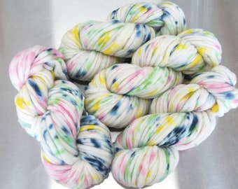 """""""May Be"""" (42619) on Smart Luxe MCN Pencil Roving"""