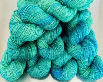 Hand Dyed Yarn-Fingering