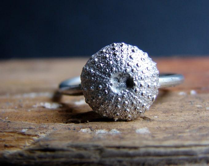 Sea Urchin Ring Engagement Ring