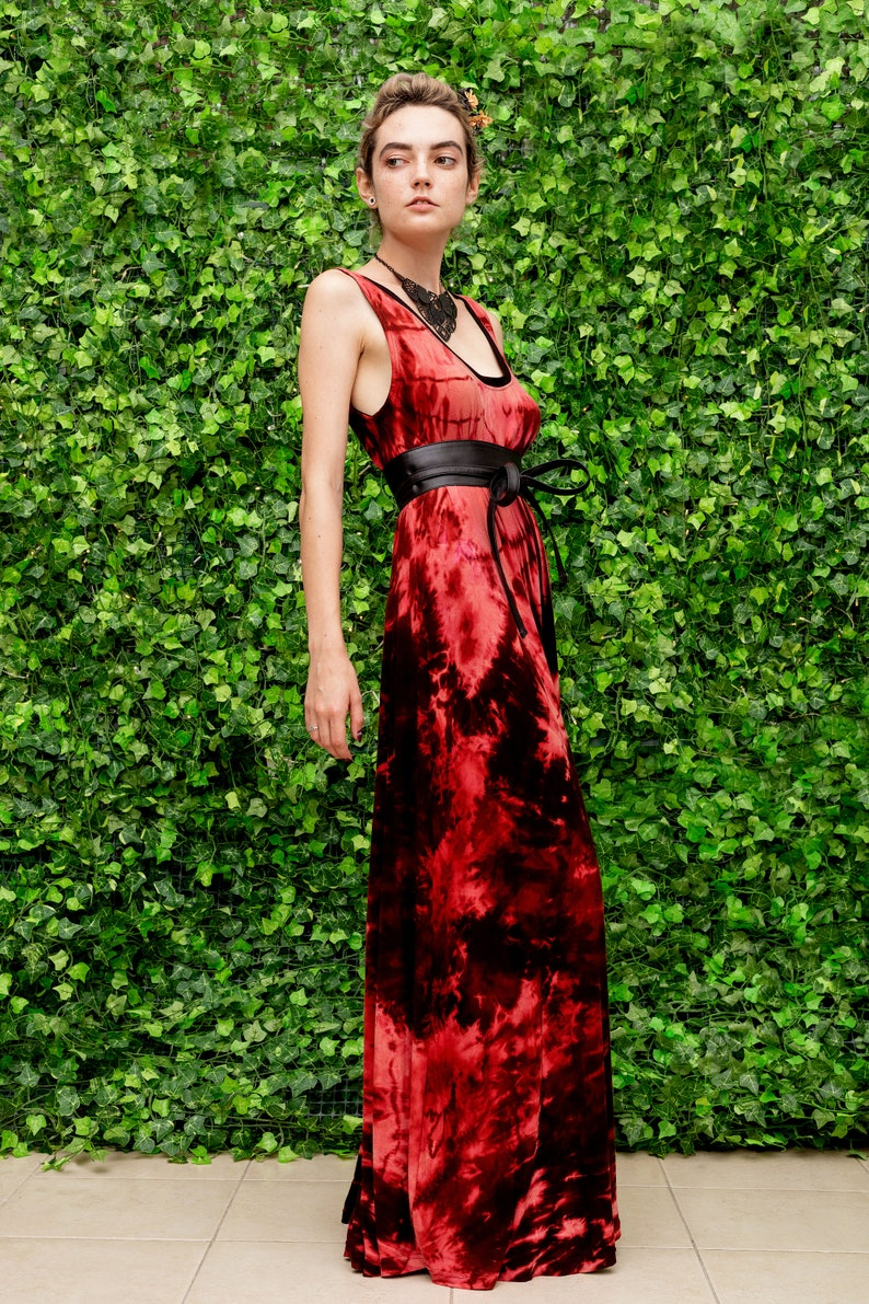 goddess dress  hand dyed dress tie dye bleach dress shibori dress tie dye maxi dress cute maxi dress bohemian maxi dress