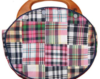 DIY Bermuda Bag WITH HANDLE  ENTiRELY CUStOM HANDMaDE You Choose Which FabricS for Your  Cover REaD BeLOW PlEASE!