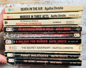 The Case of the Turning Tide Agatha Christie Mystery Paperb