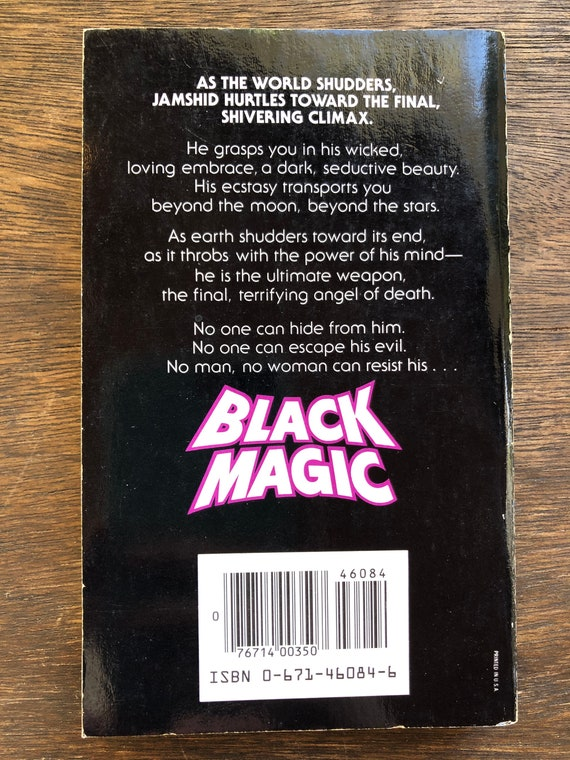 Black Magic By Whitley Strieber 1984 Horror Paperback Etsy