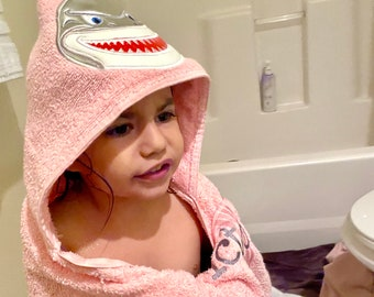 Custom Hooded Bath or Beach Towel