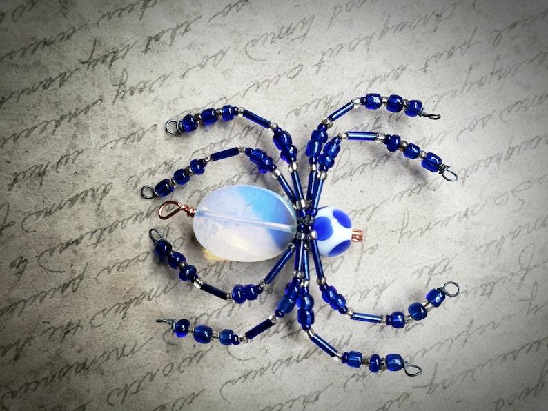 Opalite Spider Ornament