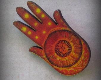 Magic Hand Brooch