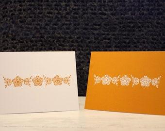 Butterfly Gold– Vintage Pyrex Patterns Notecards