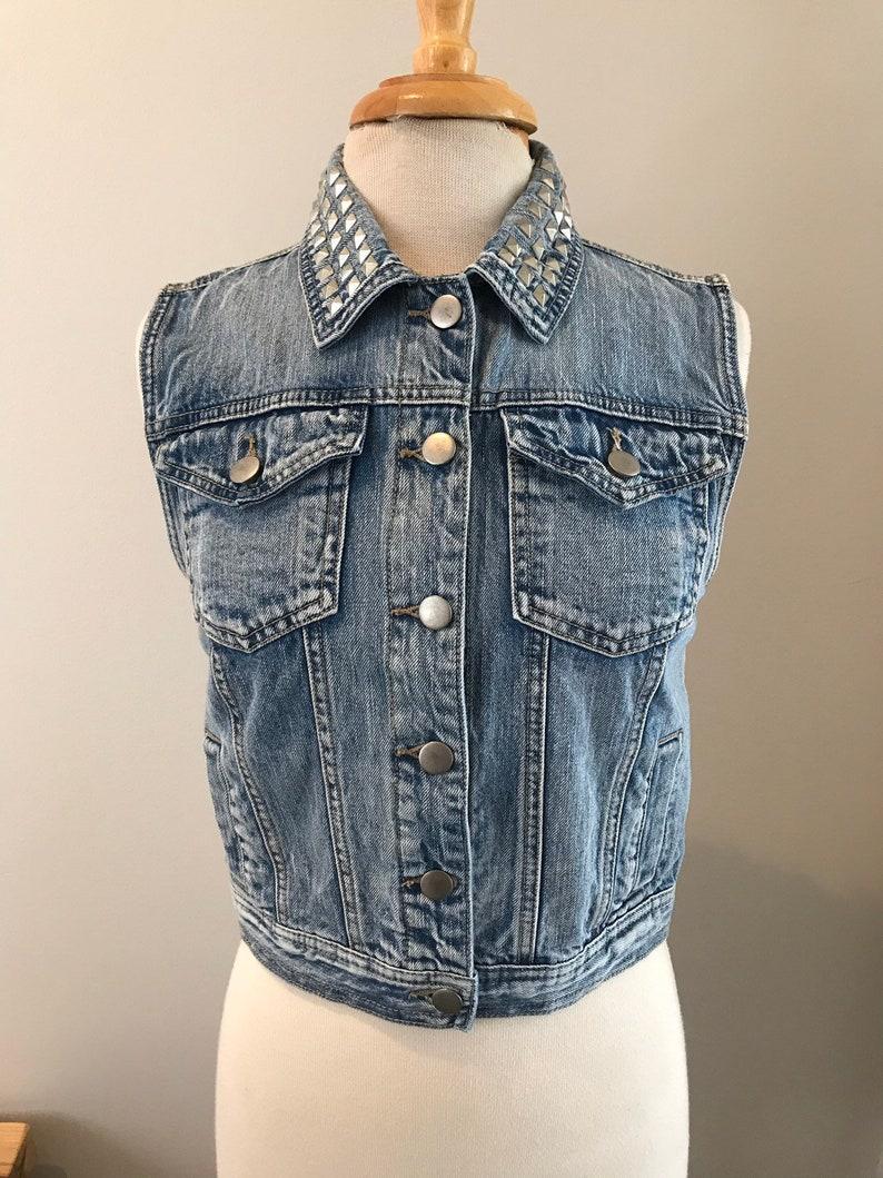 Eleven Bitchin Upcycled Jean Jacket Vest