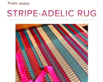 Stripe-adelic Rug Pattern PDF