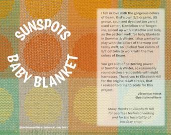Sunspots Baby Blanket