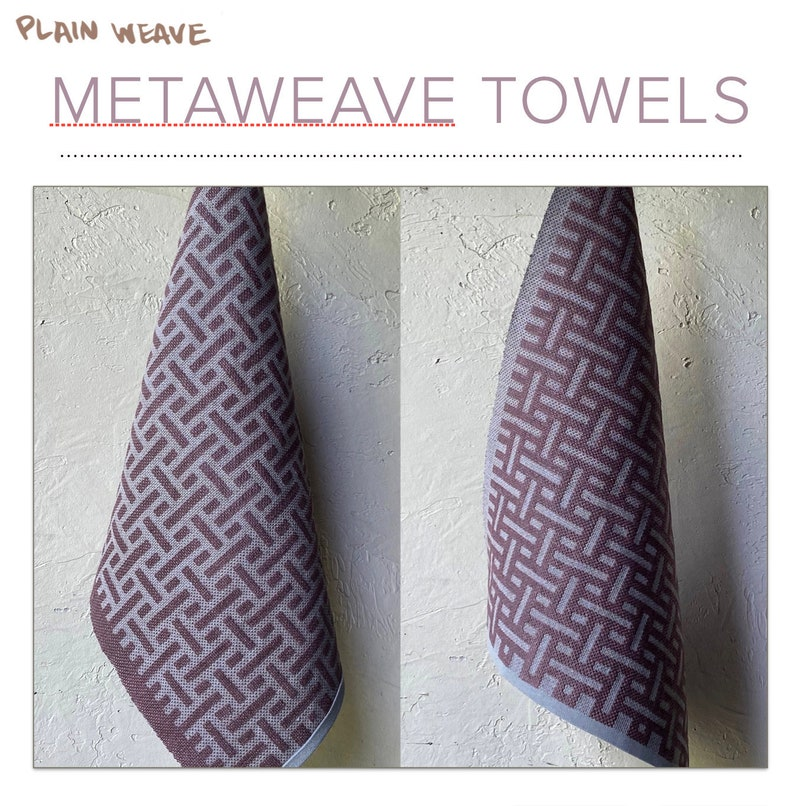 Metaweave Towel Pattern PDF image 1
