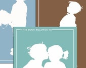 Personalized Children's Bookplates (set of 18)