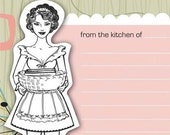 Print Your Own Retro Recipe Cards-Perfect for Mother's Day