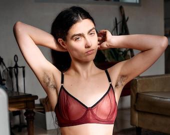 Bra underwire Coco lingerie - adjustable back underwear