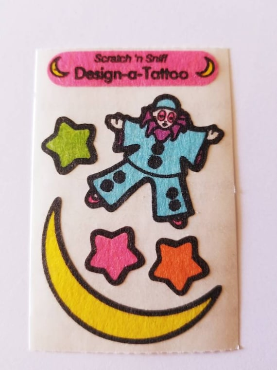 Mint!! Dragon Vintage Sandylion Scratch /& Sniff Stickers Tattoo