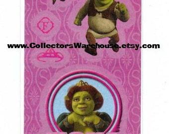 Princess Fiona Shrek Movie Sticker Strip NIP Sandylion NIP Ogre DreamWorks  MOC