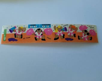 Vtg Cardesign Toots Sticker Bearly Cheerleading 80's MUS 206 vintage