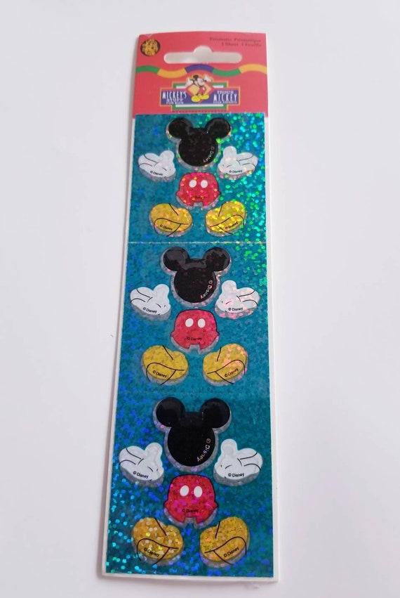 SANDYLION STICKER section 90 S Prisme Disney Mickey Autocollant Sticker Album X-MAS