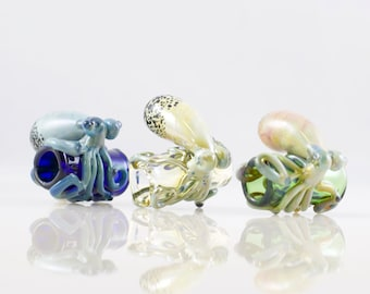 Octopus Dread Bead in Your Choice of Color