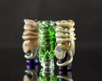 Facehugger Dread Bead in Your Choice of Color