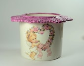 African Violet Self Watering Pot Angel C Lace made to order