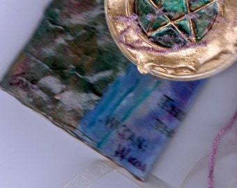 original aceo collage  Wiccan Circle