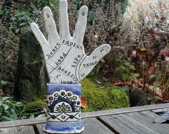 Porcelain Art Hand Carnival Fortune Telling - made to order