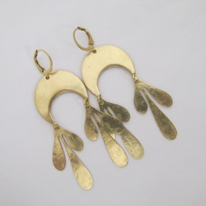 Turtle brass and abalone shell inlay earrings with silver post price per pair.