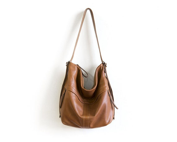 f37877dc5e Convertible Backpack Purse Soft Leather Crossbody Bag Brown