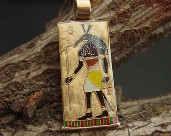 Set Egyptian God of Chaos Pendant - Egyptian Jewelry - Ancient Egypt - Egyptian Necklace - Fathers Day Gift - Seth God