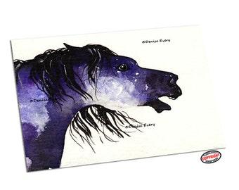 Horse Art Print Mustang Art Wild Horse Art Abstract Horse Art Equine Art Western Art Print horse lover horse gift horse artwork Denise Every