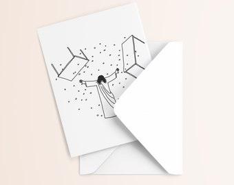 Jesus Birthday Card | Progressive Christian Card | Affirming Christian Birthday Card | Exvangelical Card | Liberal Christian Card |