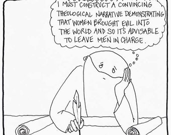 Leave Men in Charge CARTOON