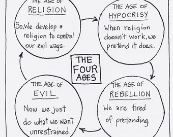 The Four Ages CARTOON