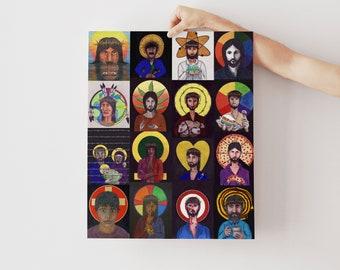 Progressive Christian Art | Deconstruction Art | Modern Christian Art  | Exvangelical | Christian Wall Art | Gay Christian Art |