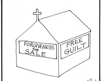 guilt and forgiveness CARTOON