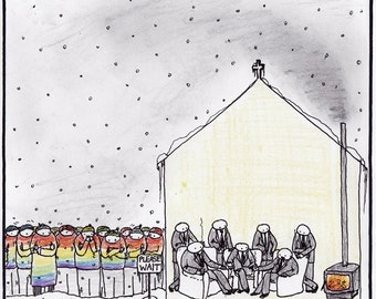 Discussing LGBT Rights CARTOON