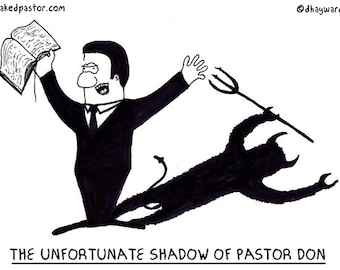 the unfortunate shadow of pastor Don PRINT