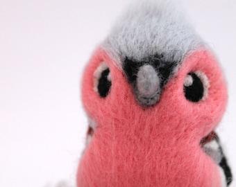 Chaffinch Needle Felted Bird Ornament British Bird