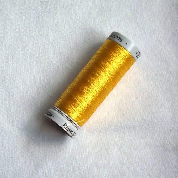 Rayon 40 Gutermann Sulky Rayon Machine Embroidery Thread