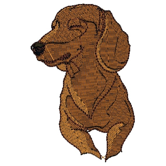 Personalised Towels Dachsund dog Embroidered Towels Dachshund 60