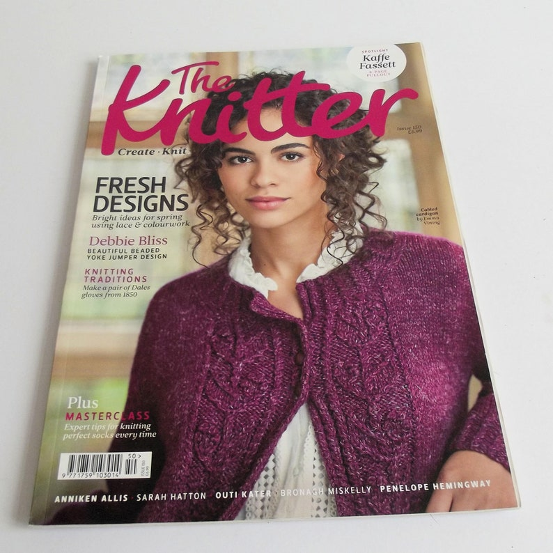 11 great Knitting Patterns Issue 150 The Knitter Magazine