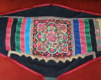 Textiles -  Hmong fabric / Hmong costume/ Miao fabric / Hmong embroidery panels - 1029