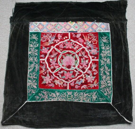 Textiles Miao - Hmong porte-bébé / Hmong / tissu Miao Textiles / panneaux de broderie Hmong - 604 caaec9